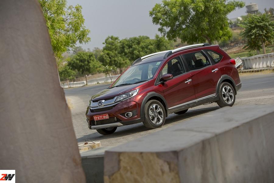 Honda BR-V launched at 8.75 lakh