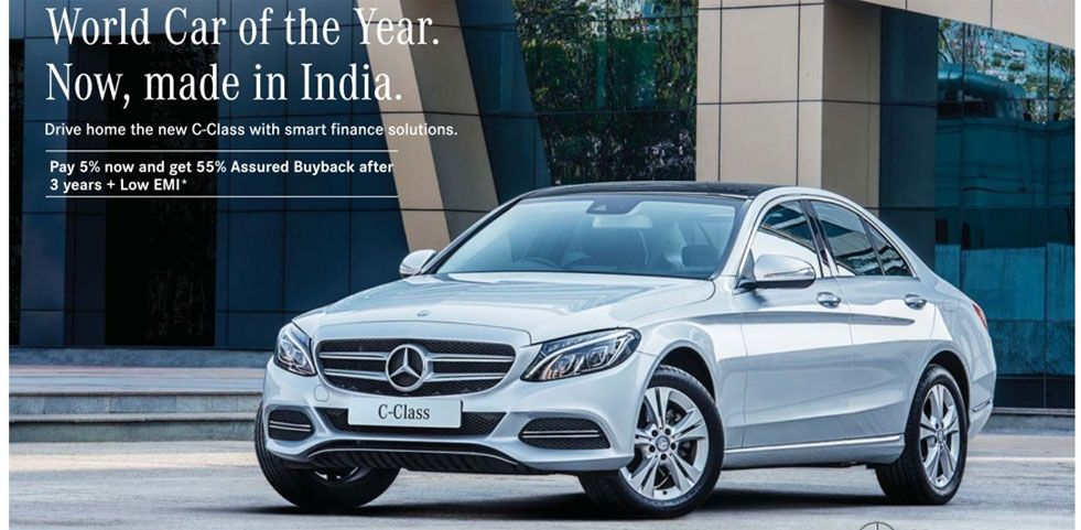 Mercedes benz c class offer offer in mumbai for Mercedes benz c class offers