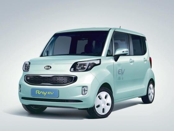 Kia Ray Electric Vehicle