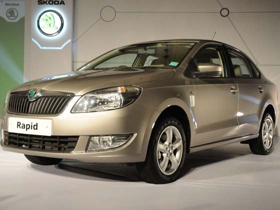 SKODA Rapid launched in Delhi