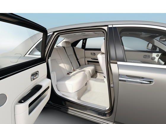 Rolls Royce Ghost Extended Wheelbase rear seat luxury
