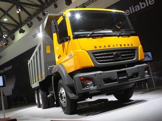 BharatBenz 2523 6X4 truck