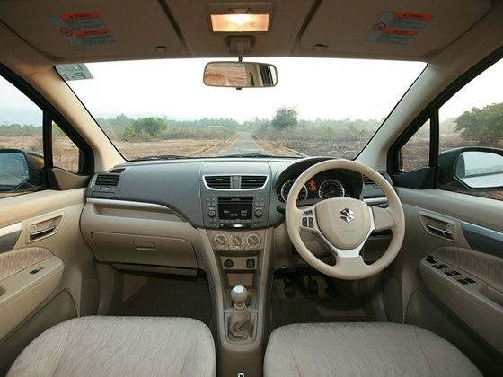 Maruti Suzuki Ertiga interior cabin