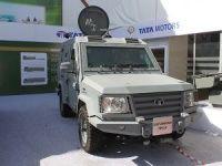 Tata motors Light Armoured Vehicle at 2012 Defexpo