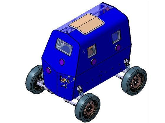 Tata motors defence micro bullet-proof vehicle MBPV