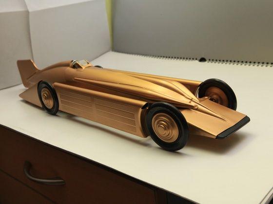 1929 Golden Arrow Land Speed Record Car