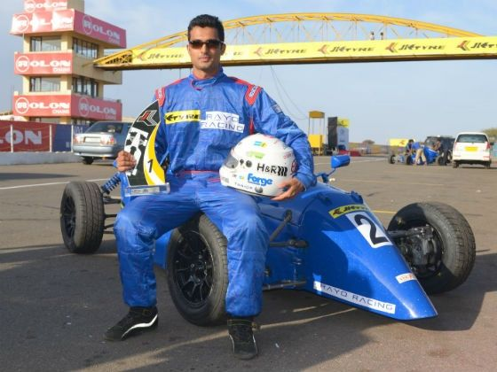 Sudarshan Rao Team Rayo Racing LGB Formula 4