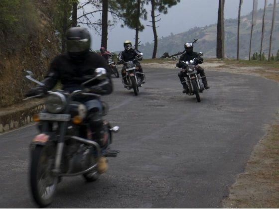 2012 Tour of Bhutan Royal Enfield