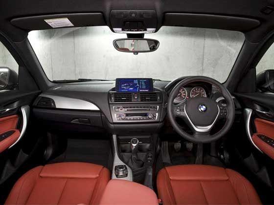 BMW 1 Series interiors