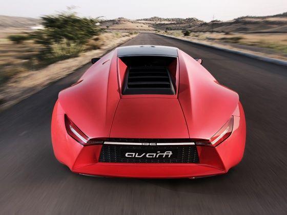DC Avanti rear profile