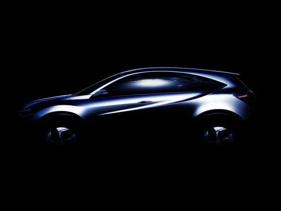 Honda compact Urban SUV concept teaser
