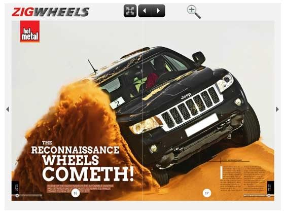 ZigWheels April issue - Jeep to enter India