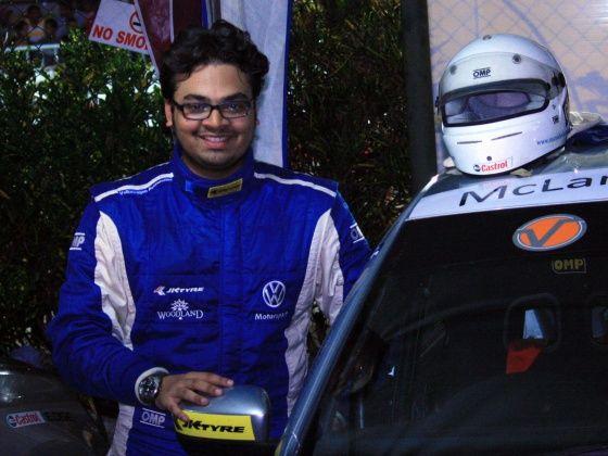 Munjal Savla at 2012 Colombo Night Races
