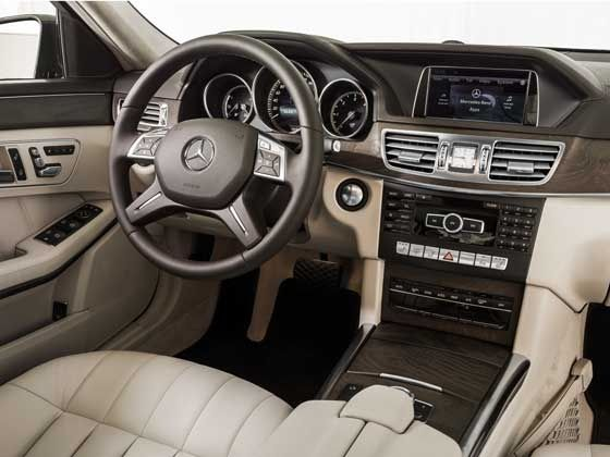 refreshed Mercedes-Benz E-Class interior