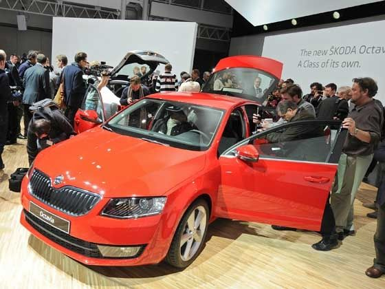 New Skoda Octavia world premiere