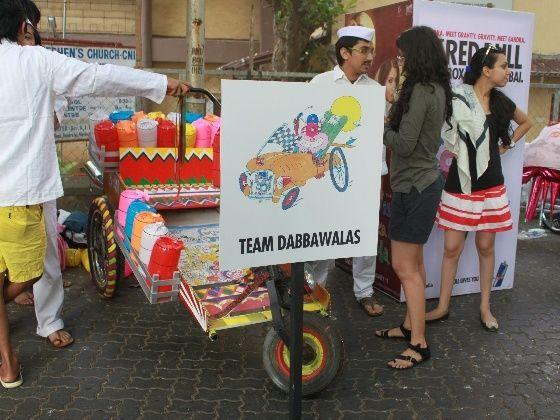2012 Red Bull Soapbox India winners Dabbawalas