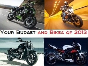 Your Budget and Bikes of 2013