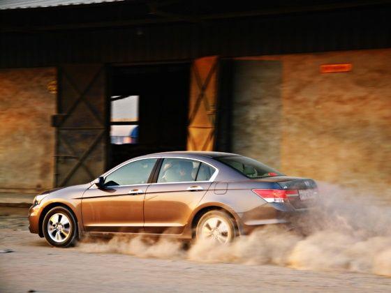 car in rapid acceleration