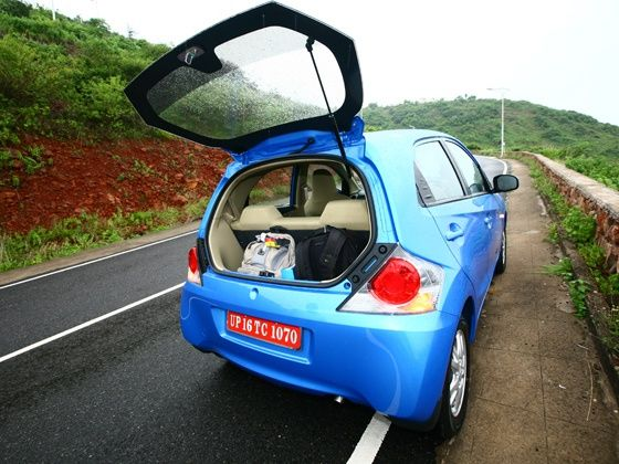 Always carry just the right amount of luggage (50-60 ltrs lower than your cars available space) in your car and choose your placement wisely