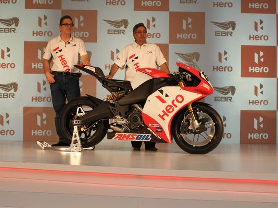 HeroMotoCorp and Erik Buell Racing team up