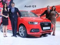 Audi unveils the Q3 for India at Delhi Auto Expo 2012