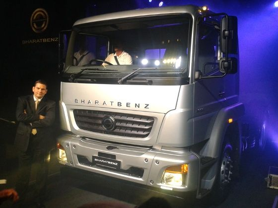Bharat Benz first made in india truck