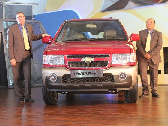 Facelifted Chevrolet Tavera will be available in BSIV version as well