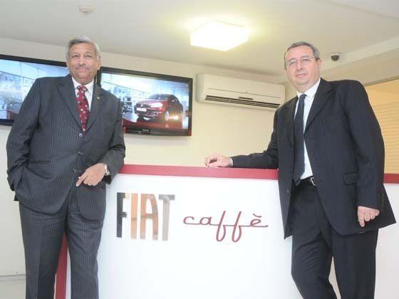 FIAT Caffe inauguration in New Delhi