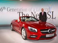 New Mercedes-Benz SL Class at Detriot Auto Show 2012