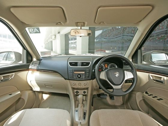 New Maruti Swift Dzire interiors