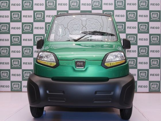 Bajaj RE60 four-wheeler unveiled