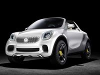 Smart For-Us open top concept revealed at Detroit Motor Show