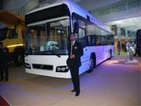 Volvo buses launched at the 2012 Delhi Auto Expo