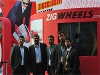 ZigWheels rocks the show at the Expo