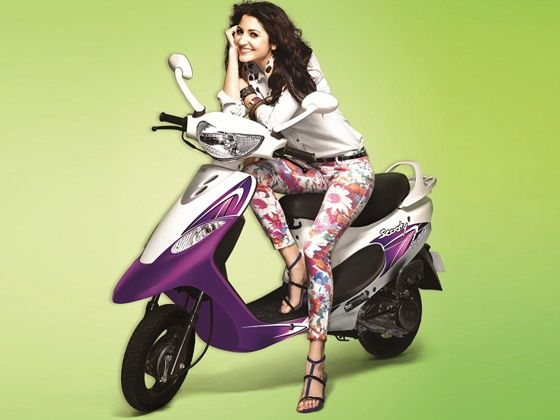Anushka Sharma to endorse TVS Scooty