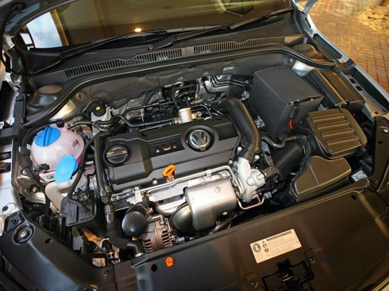 New Volkswagen Jetta TSI engine
