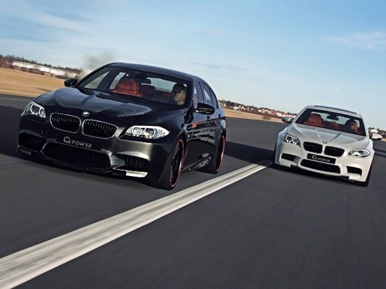 New BMW M5 gets G-Power