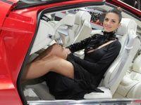 Girls at 2012 Geneva Motor Show
