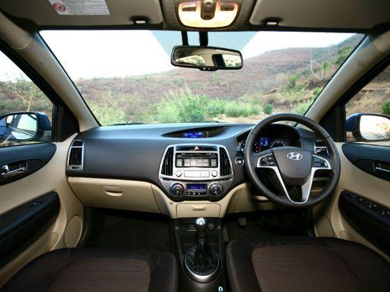 New Hyundai i20 interiors