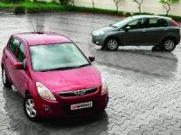 Hyundai i20 and Fiat Punto
