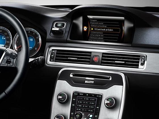 Volvo S80 interiors