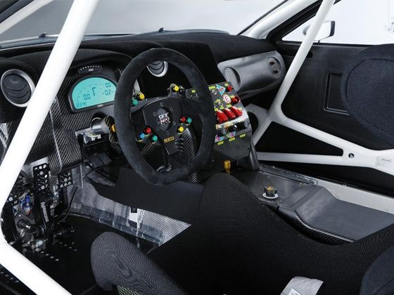 2013 Nissan GT-R Nismo GT3 interiors