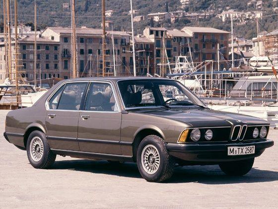 E23 BMW 7 Series