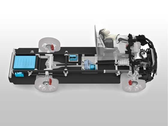 D-air technology for commercial vehicles