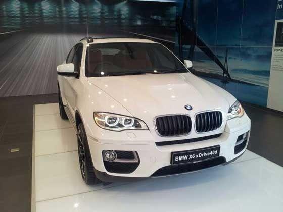 New BMW X6