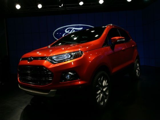 Ford EcoSport 2012 Upcoming Launch