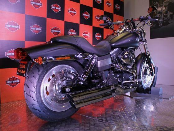 Harley-Davidson Fat Bob rear