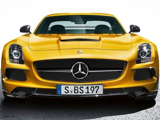 Mercedes-Benz SLS AMG Black