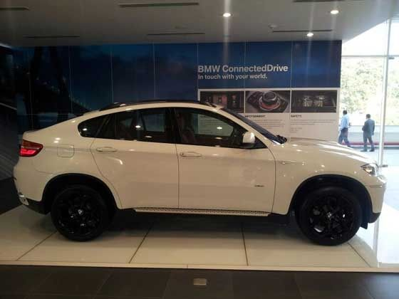 Face-lifted BMW X6 Launched