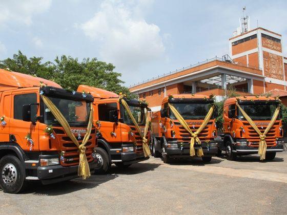 New range of Scania Trucks in India